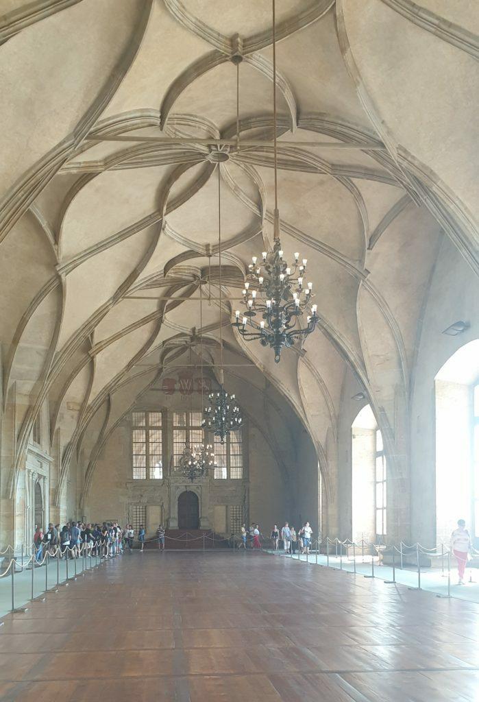 Interior del Palacio de San Jorge en el Castillo de Praga