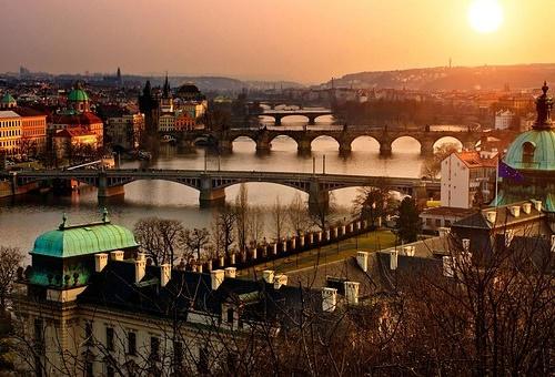 Vistas de Praga, consejos para viajar a Praga