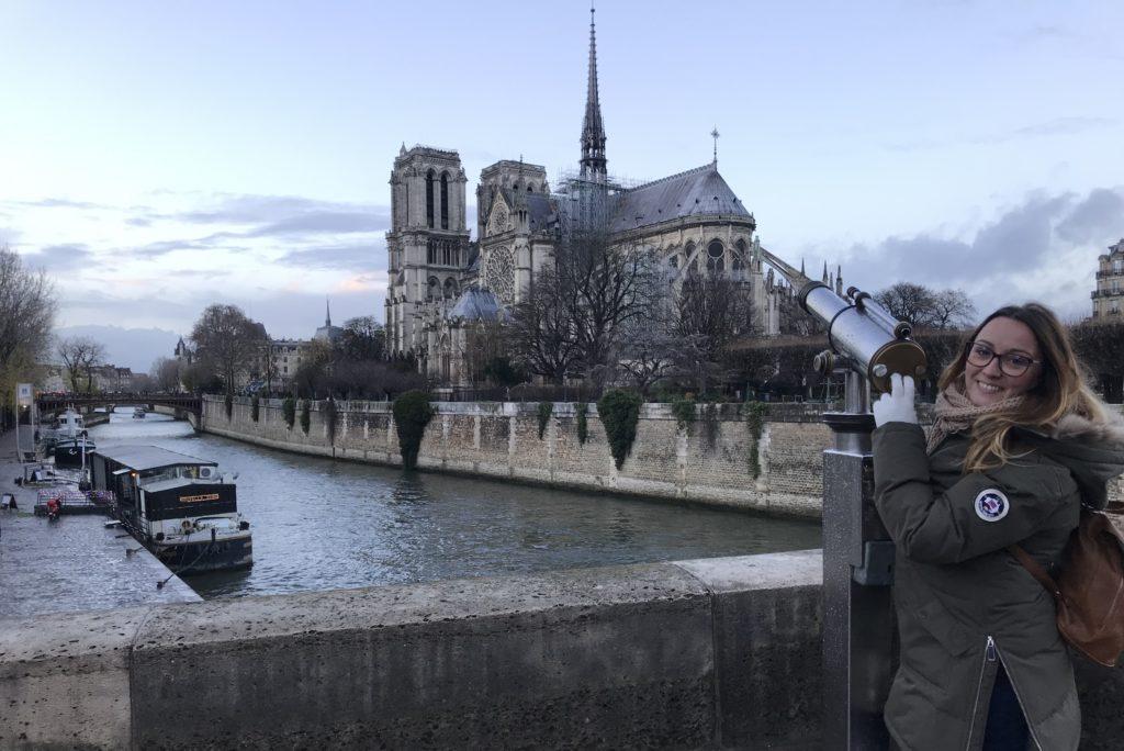 Aqui esta la Catedral de Notre Damme de Paris antes del incendio