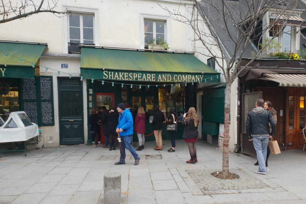 la libreria shakespeare en paris una de las mas famosas del mundo