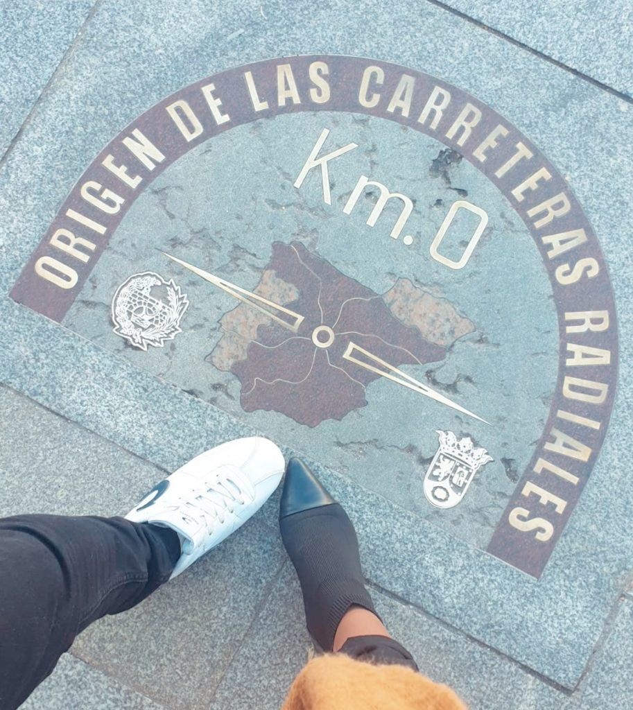 Kilometro 0 de Madrid, comienzo de todas las carreteras de España