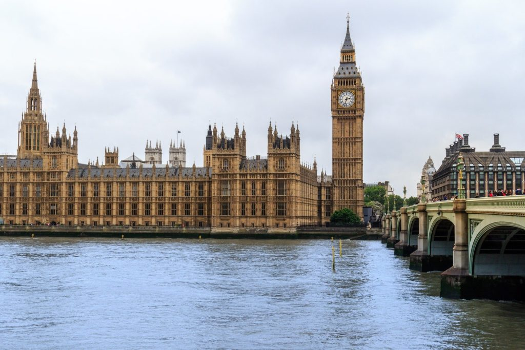 imagen del Big Ben y Palacio de Westminster