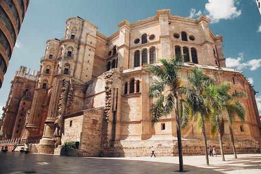 Lateral de la Catedral de Málaga